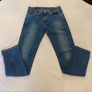 LEVI'S Men's 511 Jeans, Slim Fit, Size 32 x 34